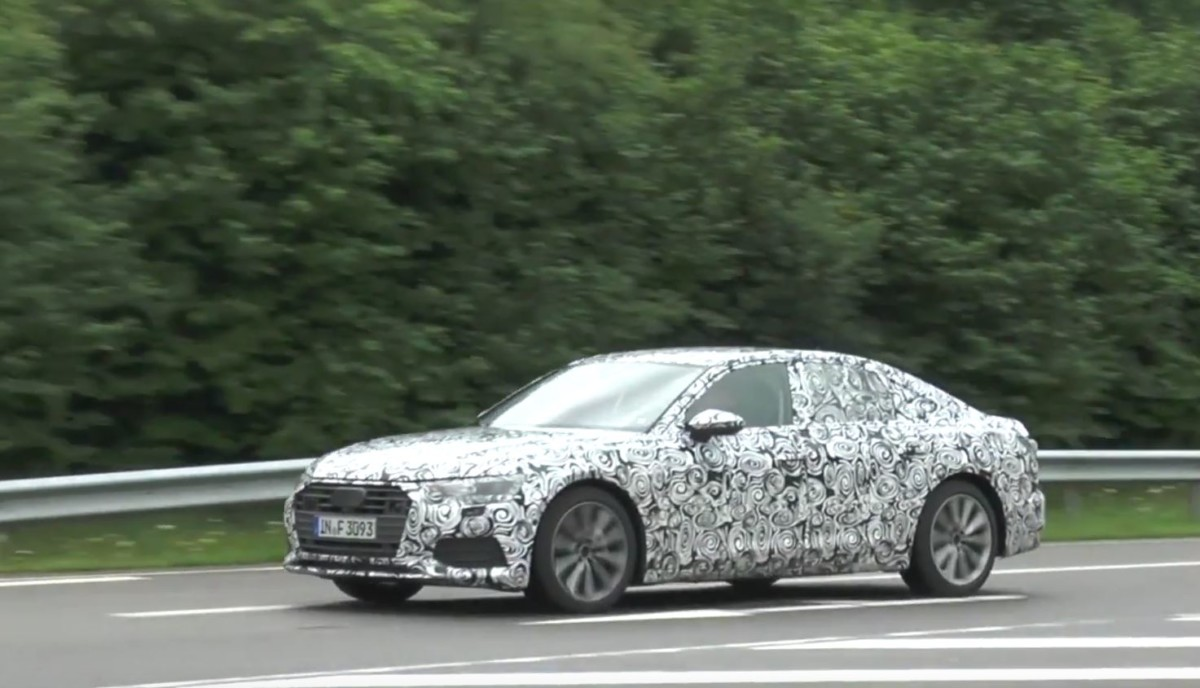 Audi A6 2019: новые подробности и дата презентации