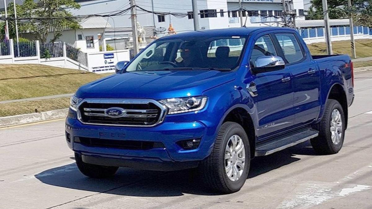 Новый Ford Ranger 2019 засняли вживую