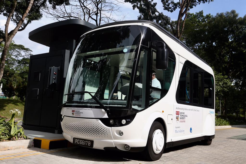 NTU-Blue Solutions Flash Shuttle