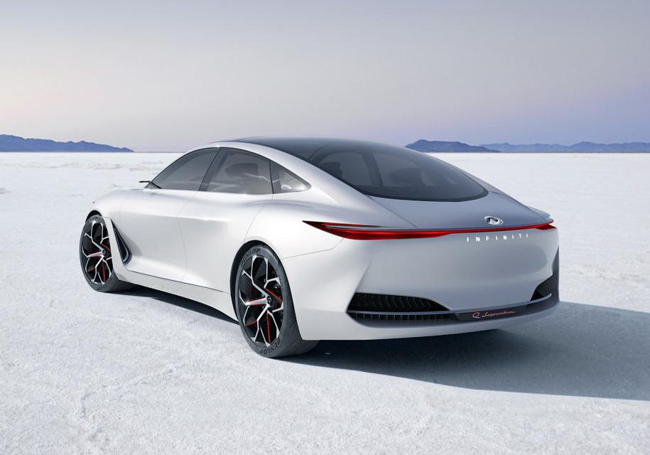 Каким будет первый электромобиль Infiniti