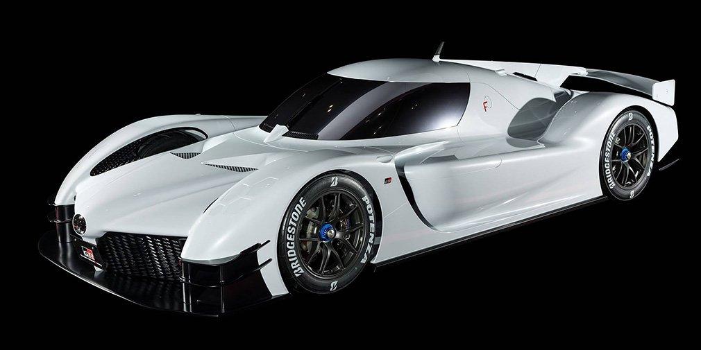 Первые официальные фото нового суперкара Toyota