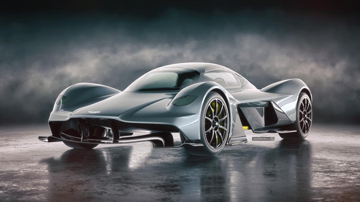 ТОП 5 самых дорогих автомобилей - Aston Martin Valkyrie