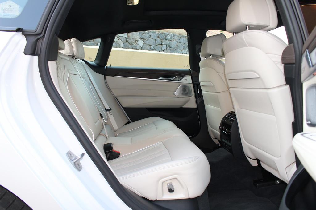 Салон BMW 6 Gran Turismo