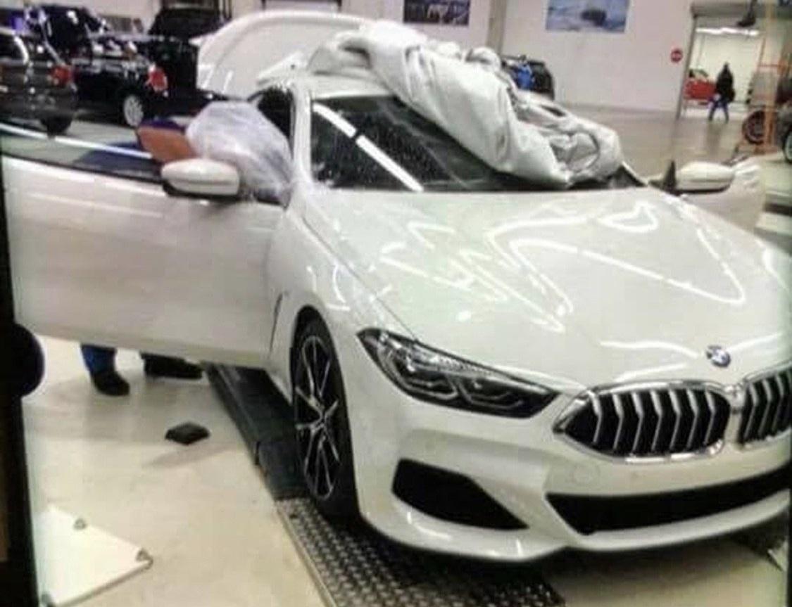 Первые живые фото BMW 8 Series 2019