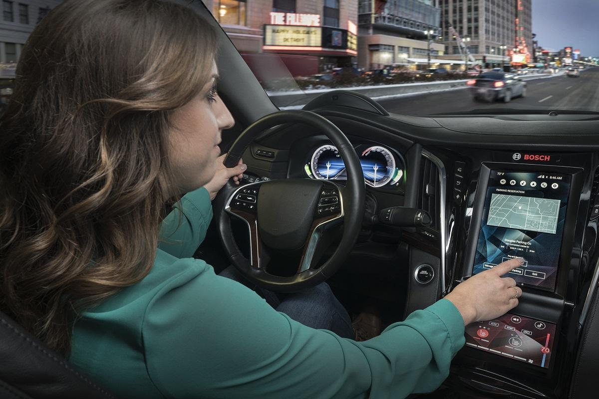 Bosch научила авто разговаривать и выполнять голосовые команды