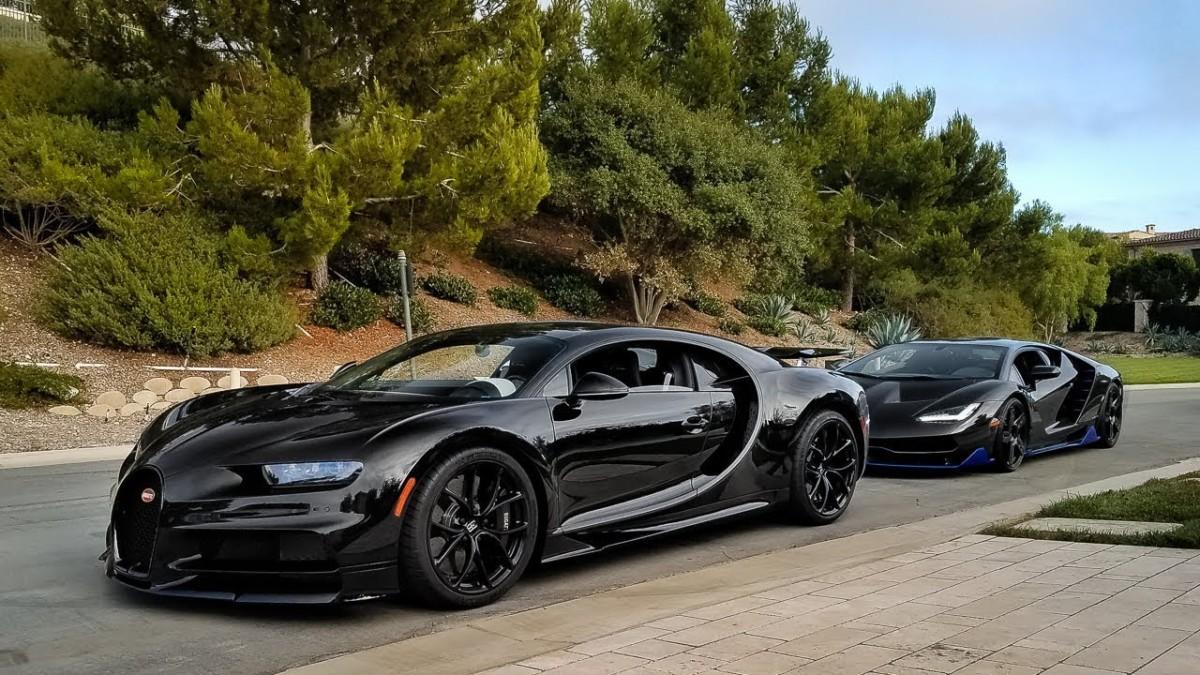 ТОП 5 самых дорогих автомобилей - Bugatti Chiron