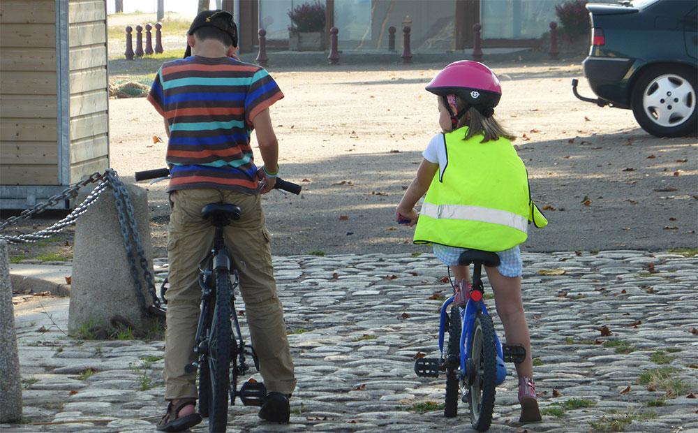 Штрафные баллы Германия дети на велосипедах