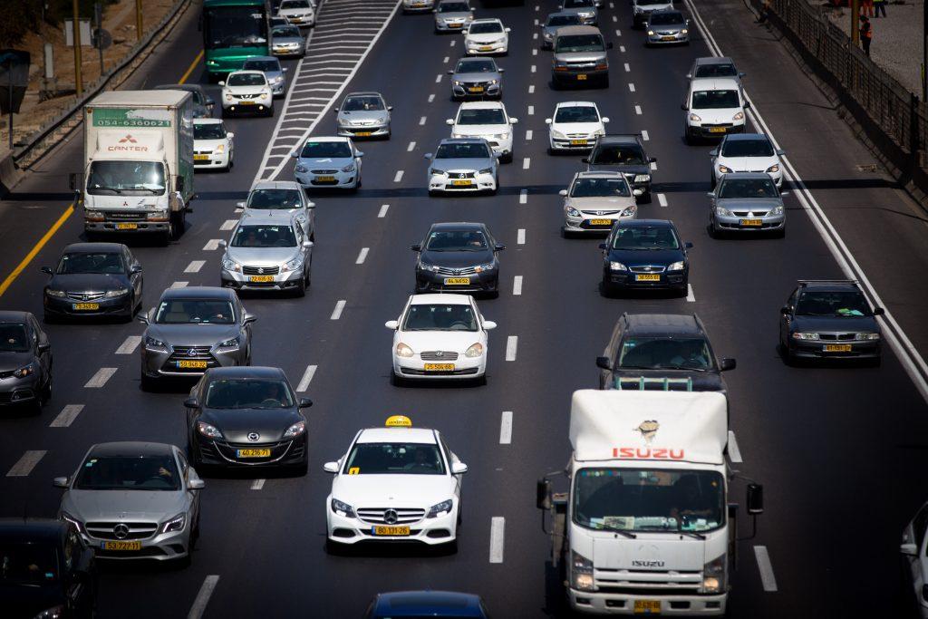 Начисление штрафных баллов в Израиле - дороги Израиля