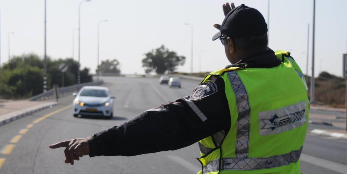 Начисление штрафных баллов Израиль - израильская полиция