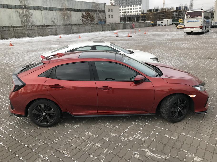 Внешность Honda Civic 2017 1.5 Turbo