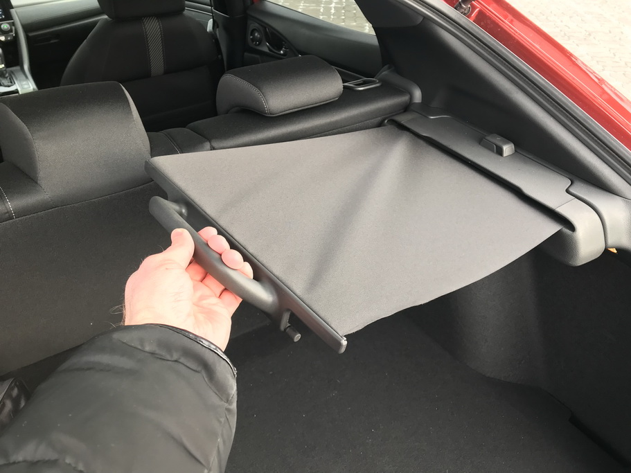 Багажник Хонда Сивик 2017 Хэтчбек