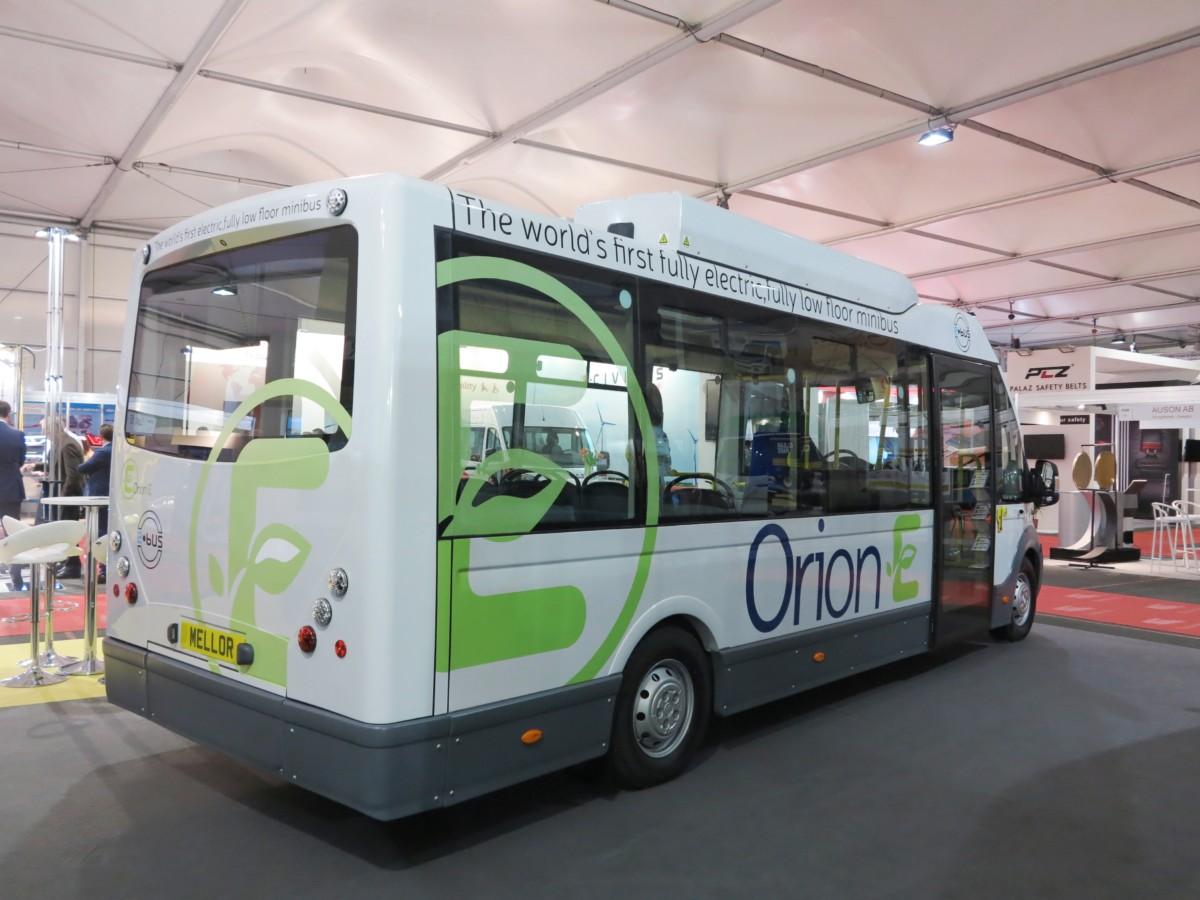 Первый в мире электробус нового класса – Mellor Orion E