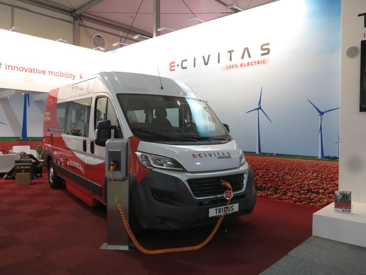 Микроавтобус e-CIVITAS