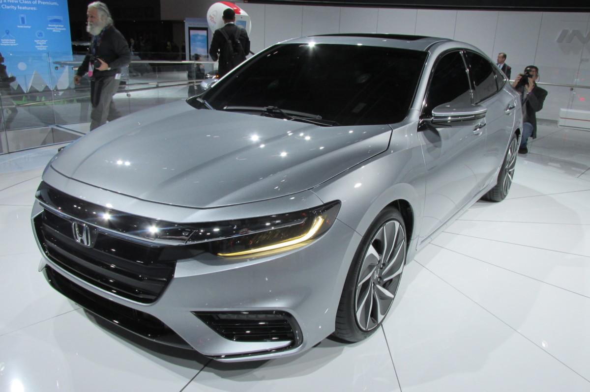 Honda в Детройте показала нового конкурента Toyota Prius