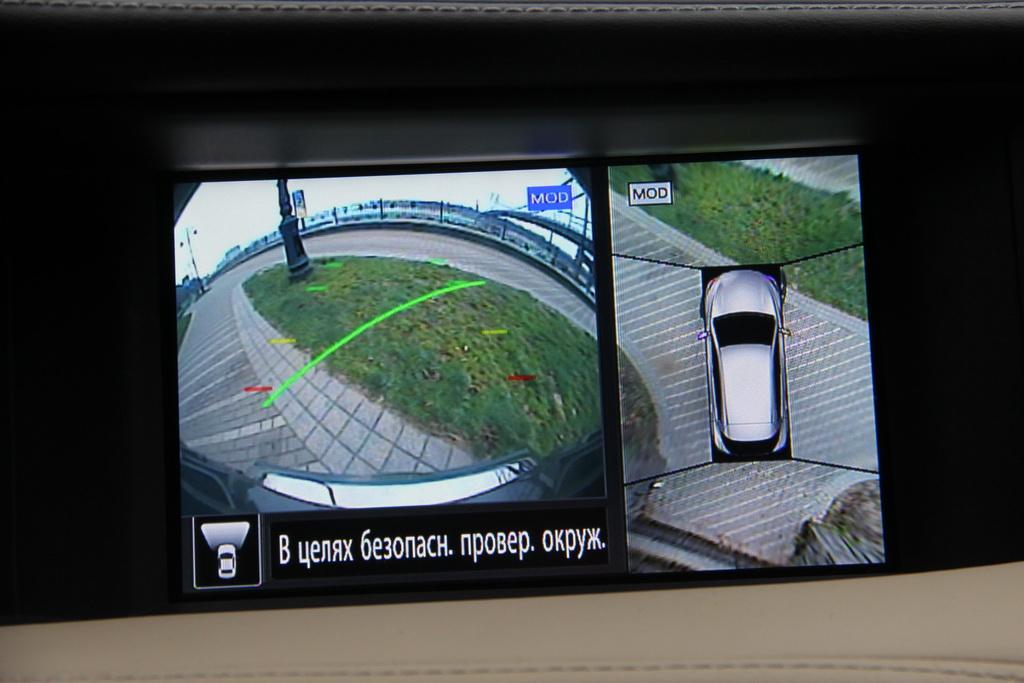 Круговой обзор Infiniti QX30