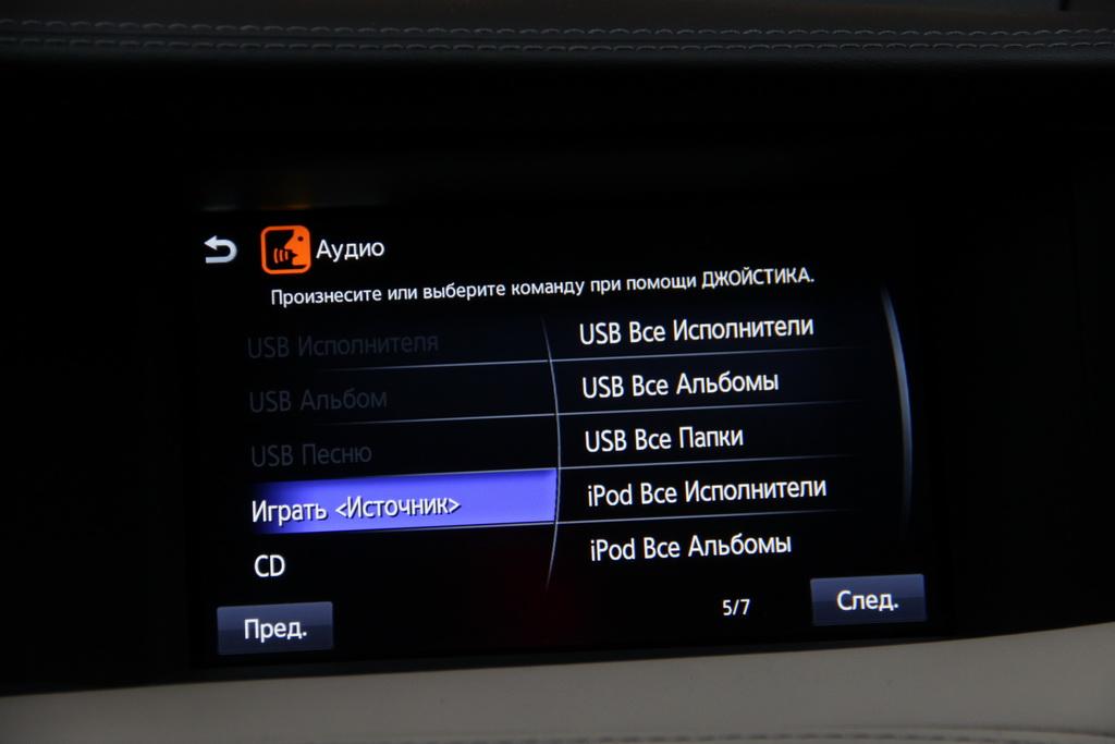 Оборудование Infiniti QX30