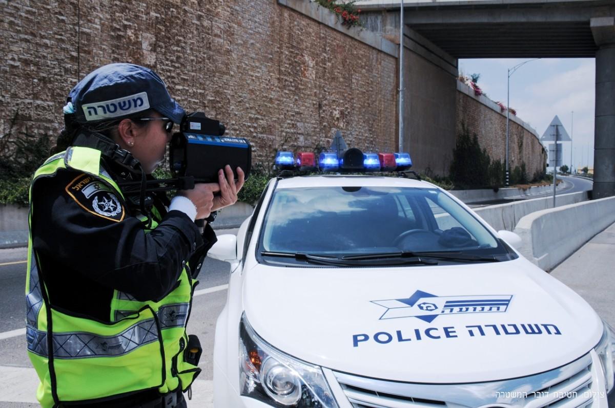 Начисление штрафных баллов в Израиле - видеофиксация