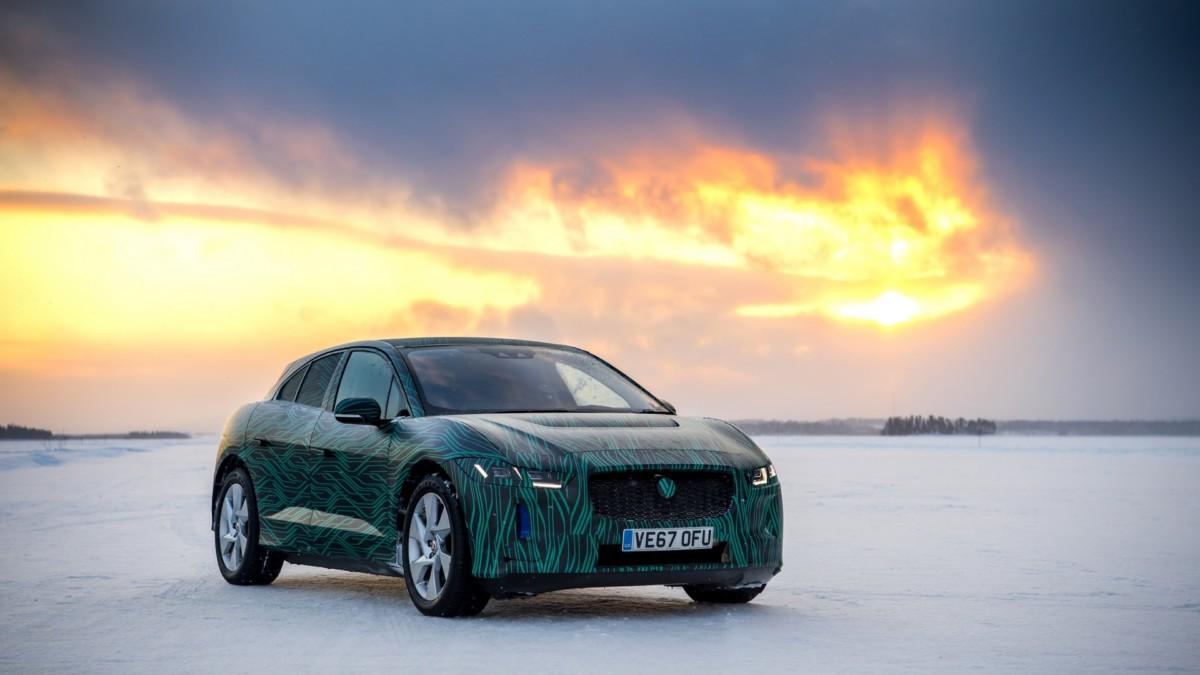 Первый электромобиль Jaguar: официальные фото и дата презентации