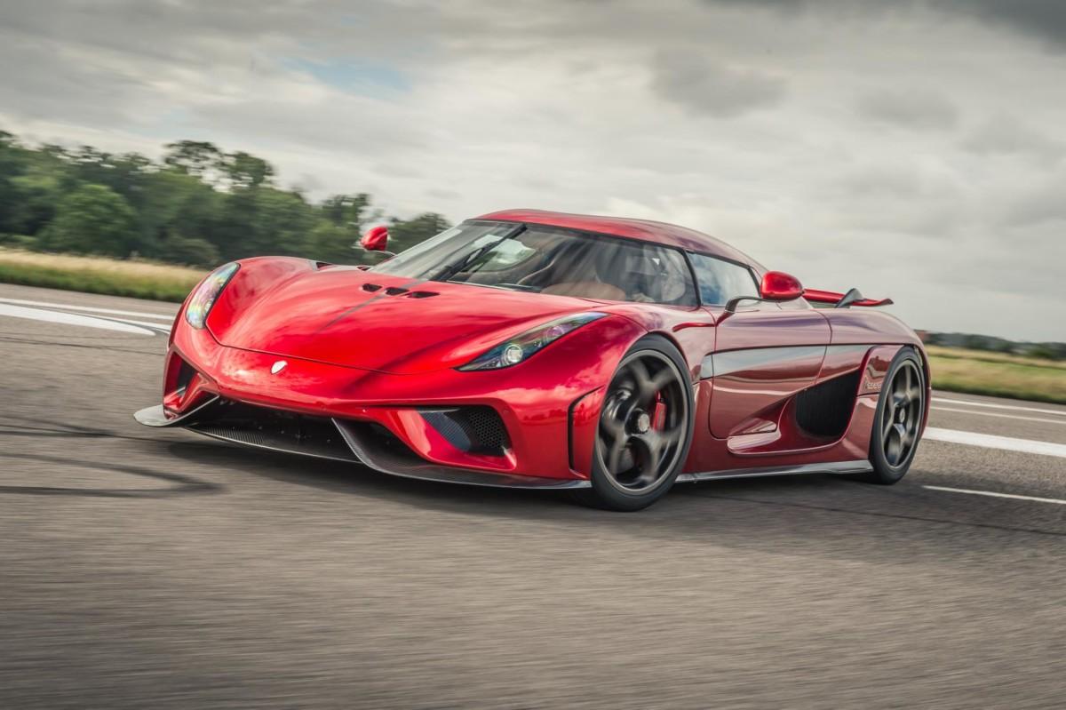 ТОП 5 самых дорог автомобилей в мире - Koenigsegg Regera