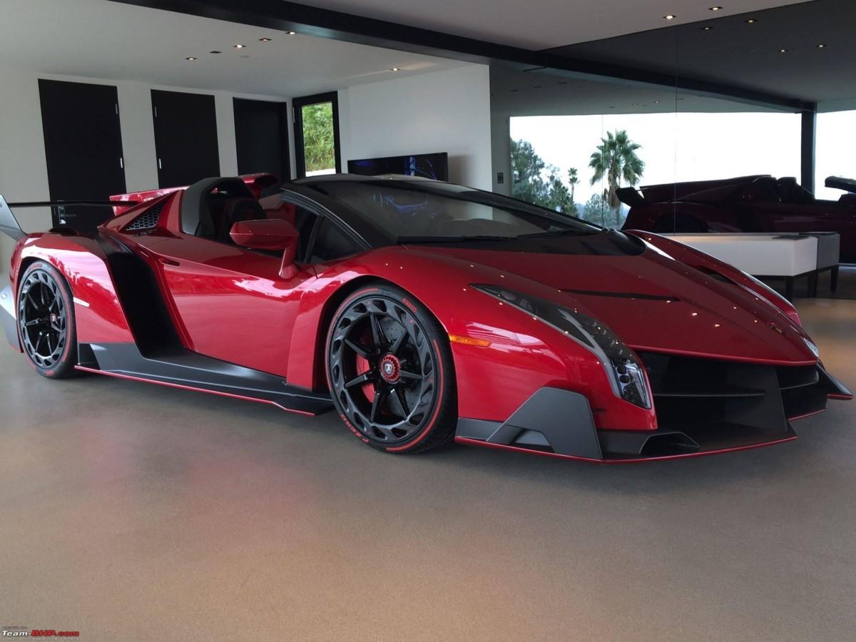 ТОП 5 самых дорогих автомобилей - Lamborghini Veneno Roadster