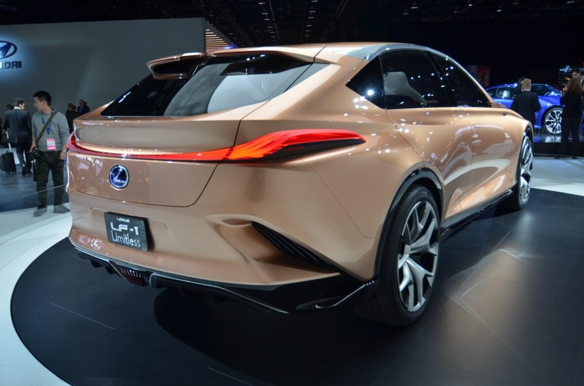 В Детройте показали прототип флагманского кроссовера Lexus