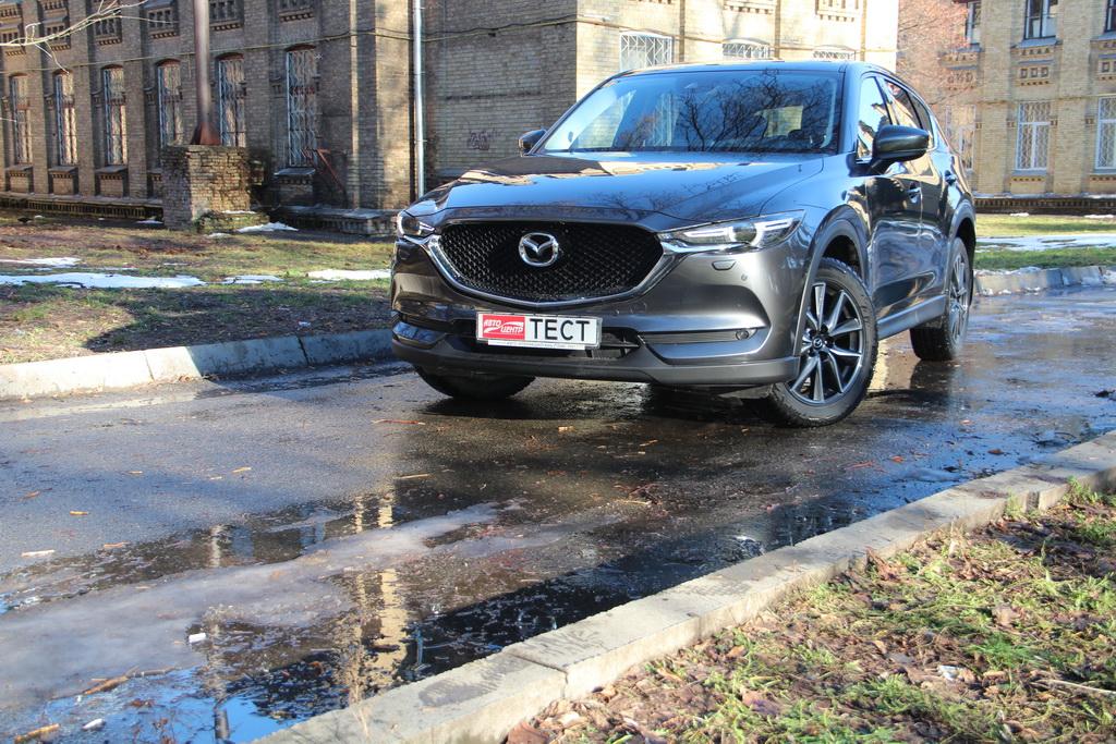 Внешность Mazda CX-5 2017