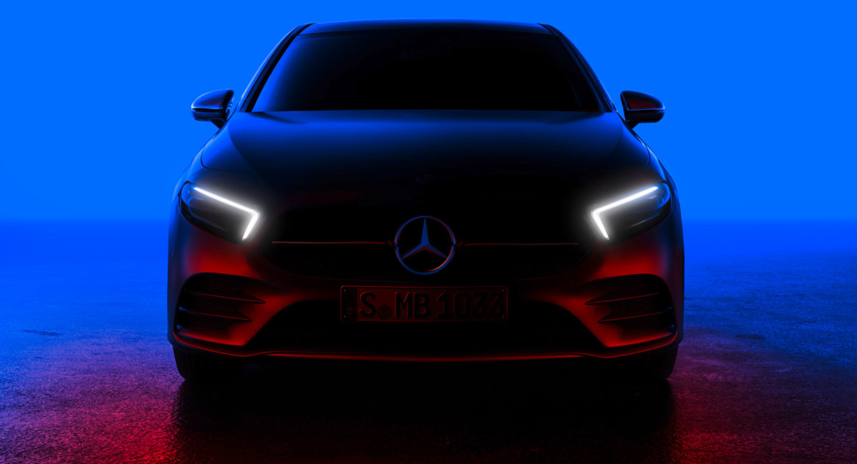 Официальные изображения нового Mercedes A-Class 2018