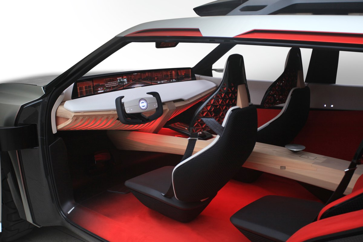 Nissan Xmotion 2018 салон авто