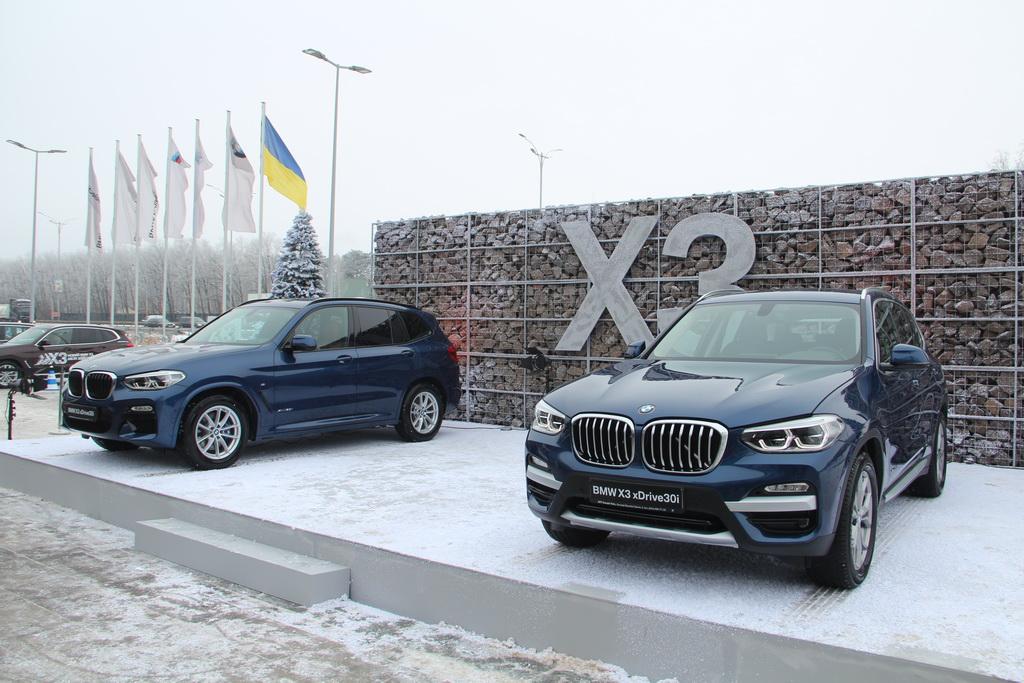Новый BMW X3 2018 в Украине