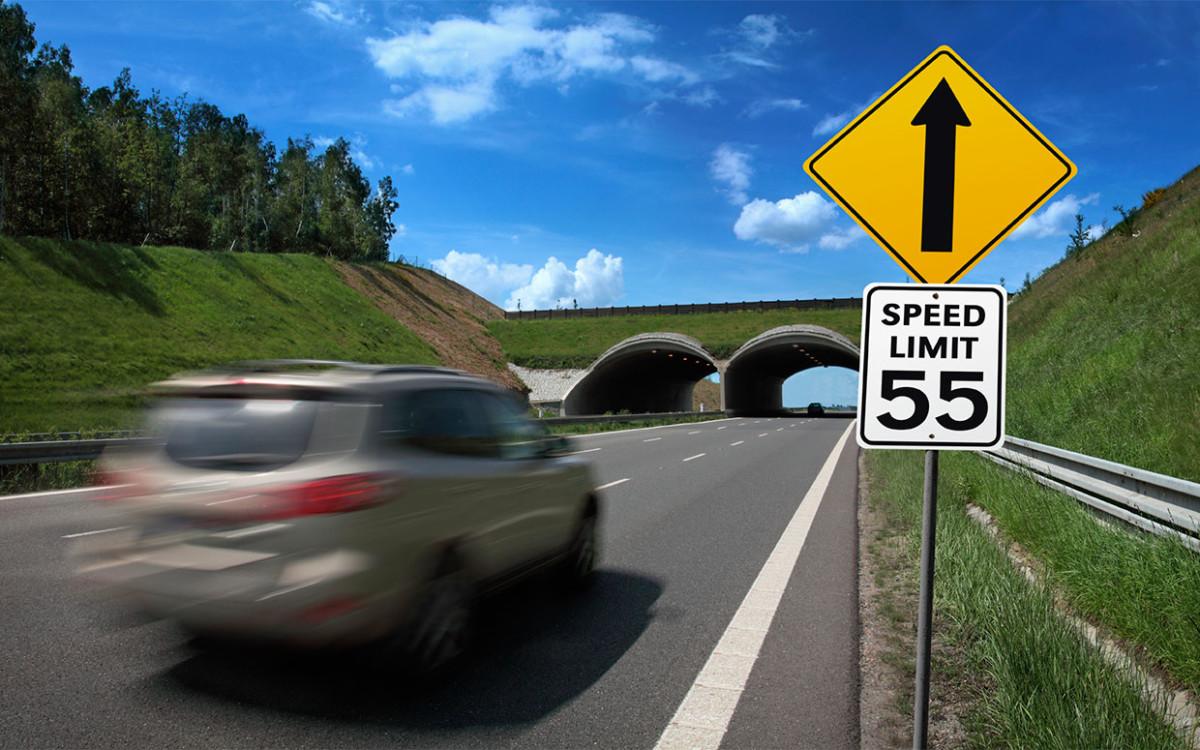 Ограничение скорости 50 км/ч в Украине