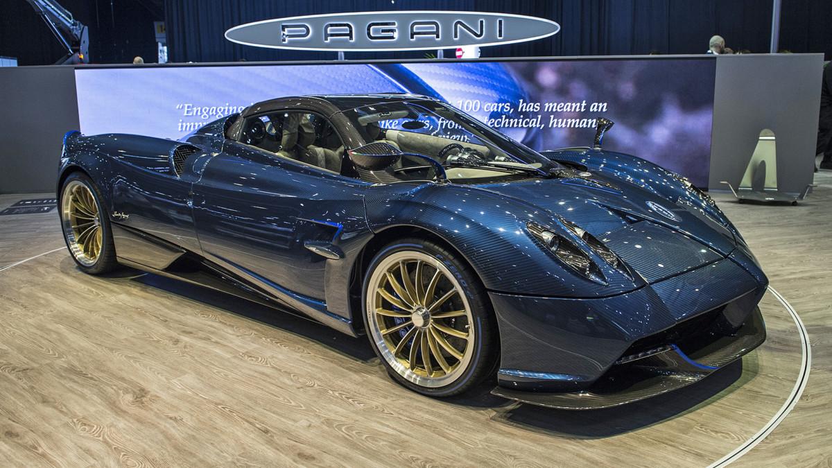ТОП 5 самых дорогих автомобилей - Pagani Huayra Roadster