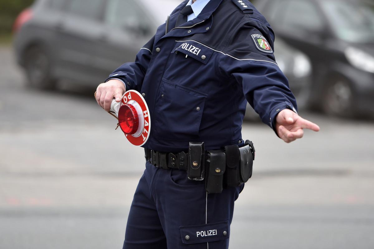 Штрафные баллы в Германии полицейский