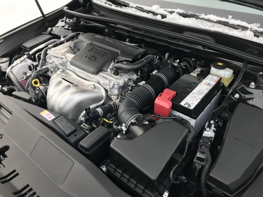 Двигатель Toyota Camry 2018