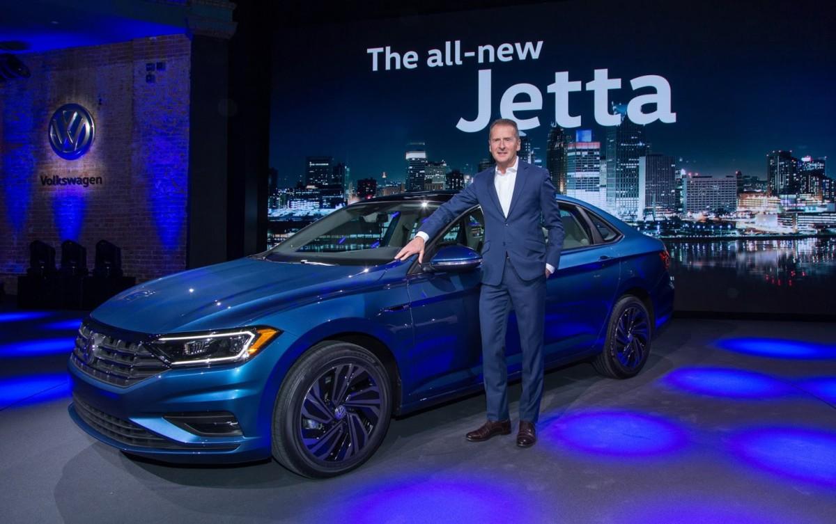 Новый Volkswagen Jetta: официальные фото и характеристики