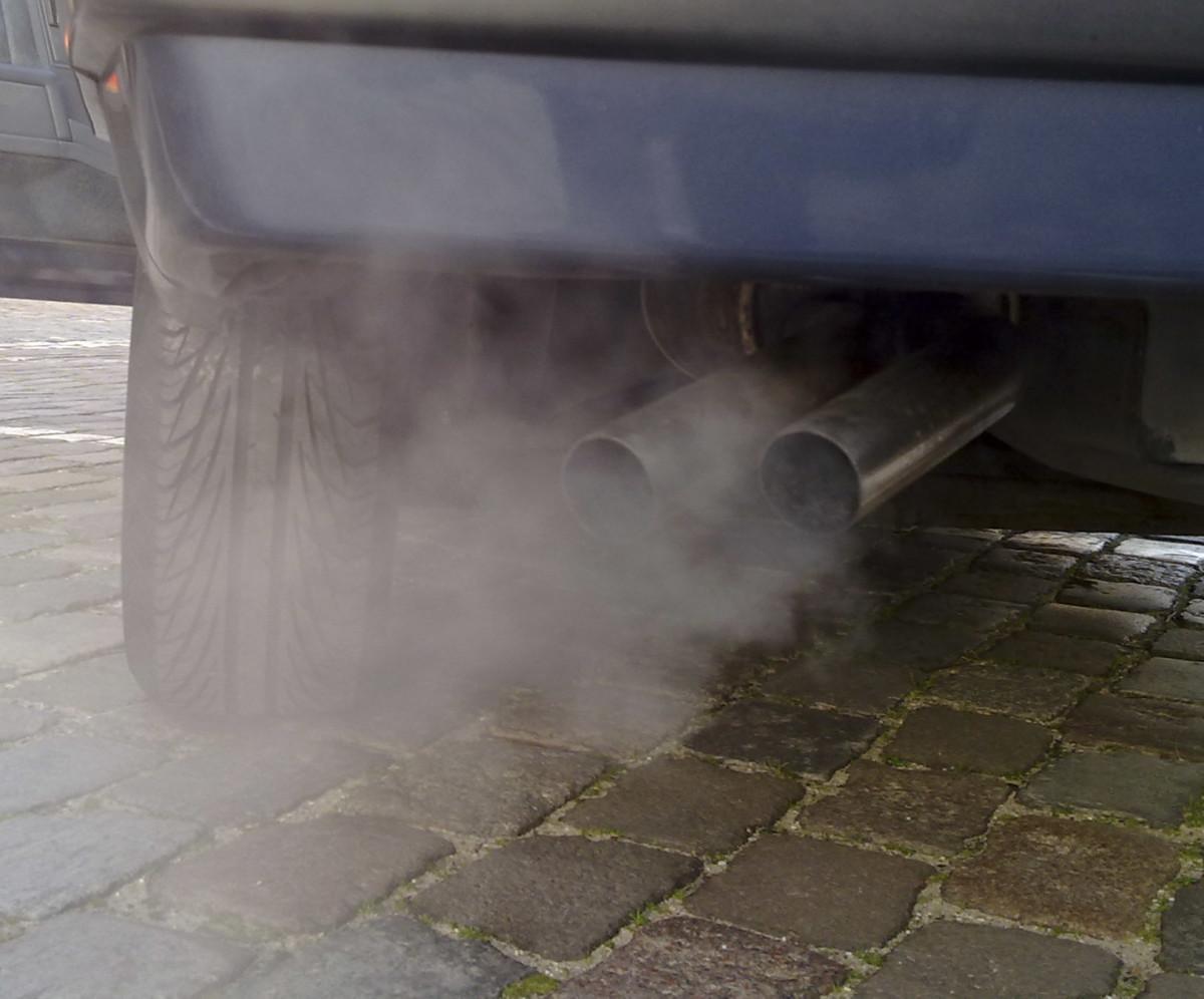 Автомобильные выбросы СО2