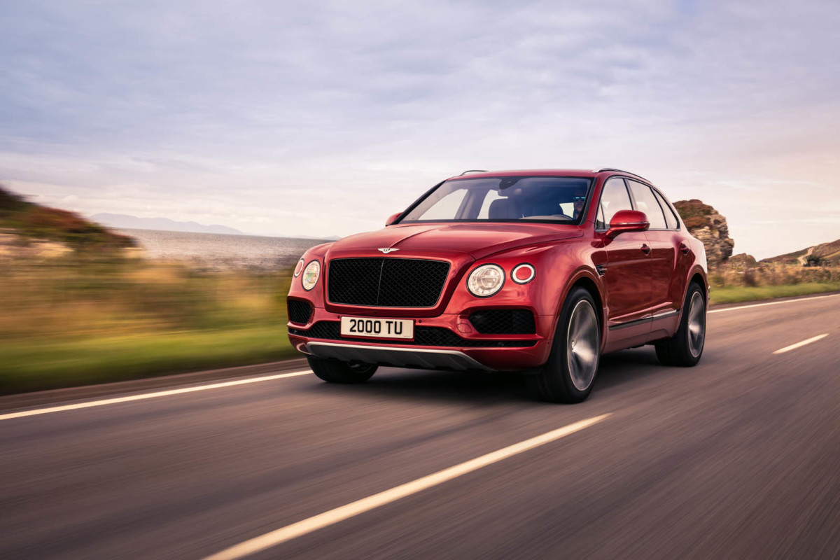 Кроссовер Bentley Bentayga обзавелся новой версией