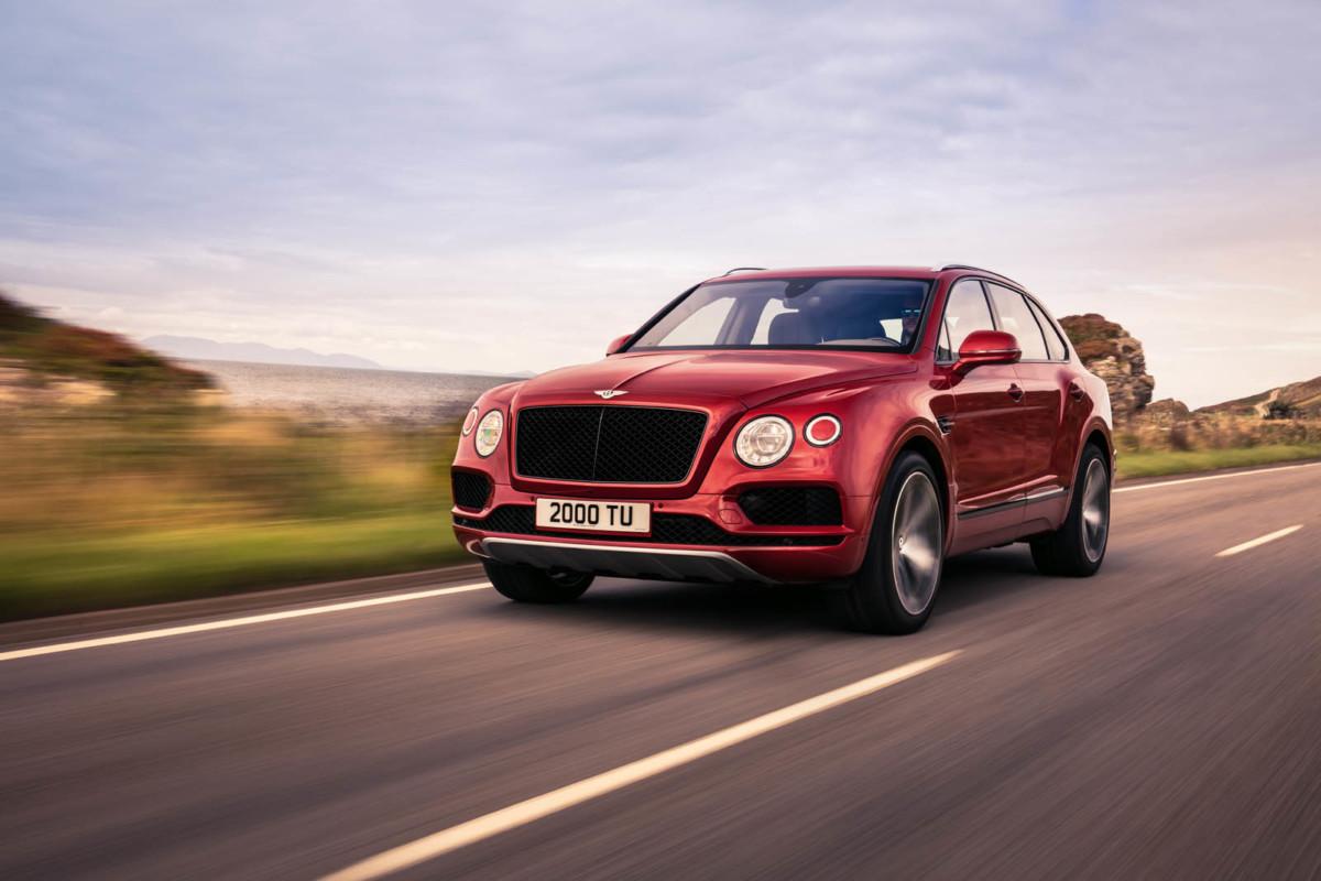 Кроссовер Bentley Bentayga обзавелся новой версией