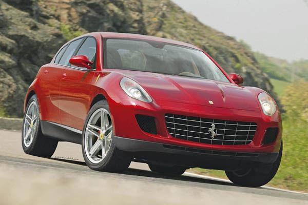 Первый кроссовер Ferrari представят в 2019 году