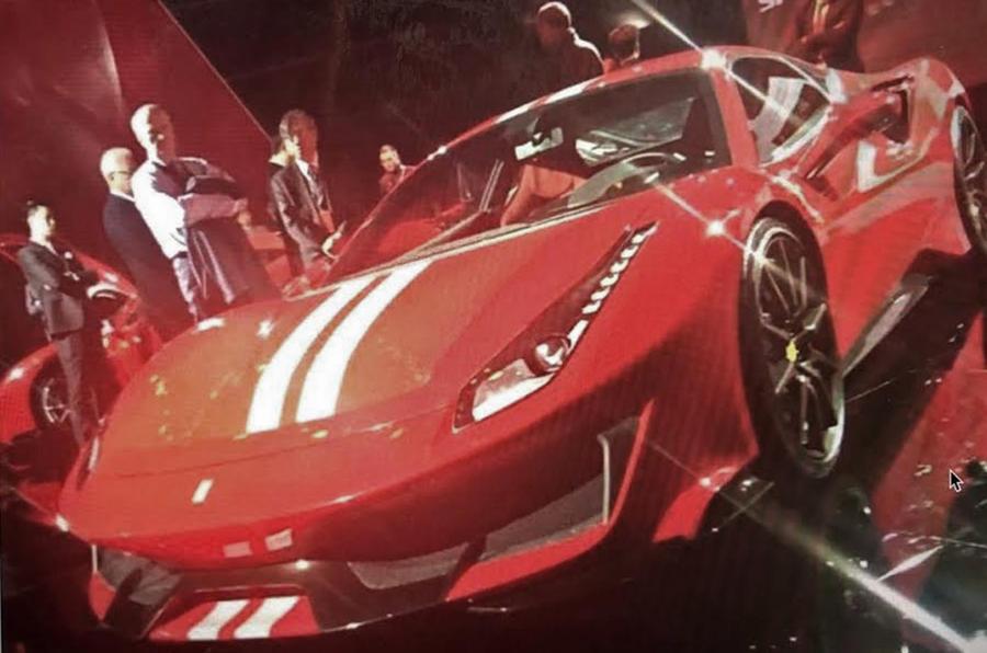Трековое купе Ferrari 488 GTO впервые засняли вживую