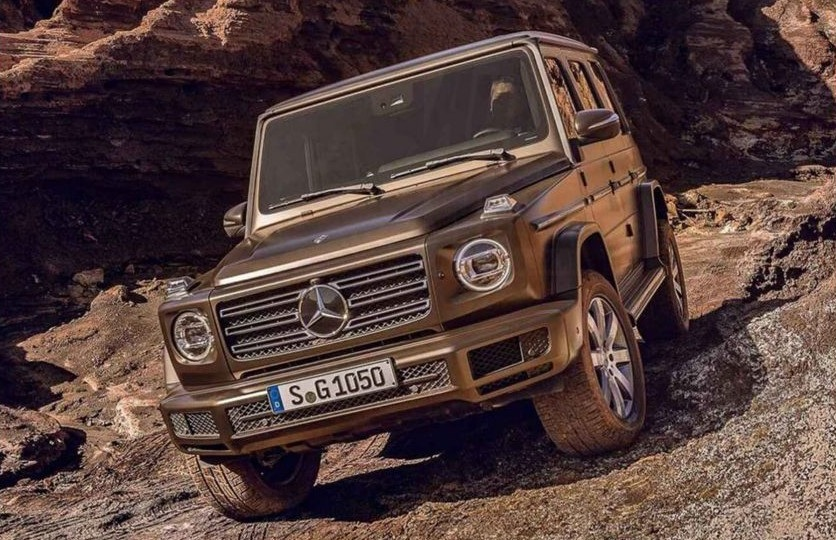 Новый Mercedes-Benz G-Class 2019 полностью рассекречен