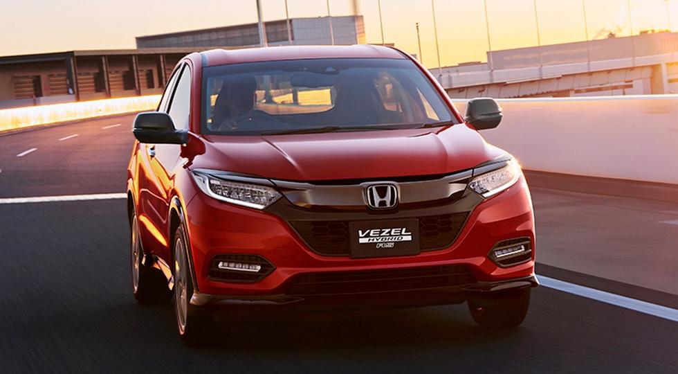 Новый кроссовер Honda HR-V 2018 полностью рассекречен