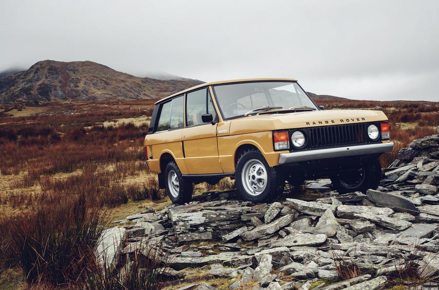 Первые официальные фото внедорожного купе Range Rover