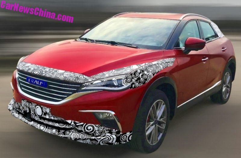В Китае клонировали новейший кроссовер Mazda