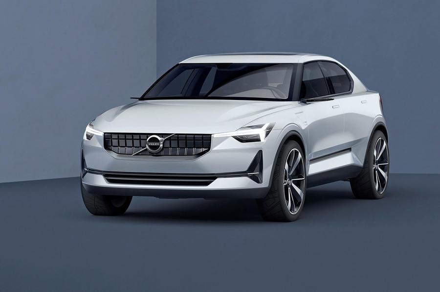 Первый электромобиль Volvo: угловатый дизайн и 500 км запаса хода
