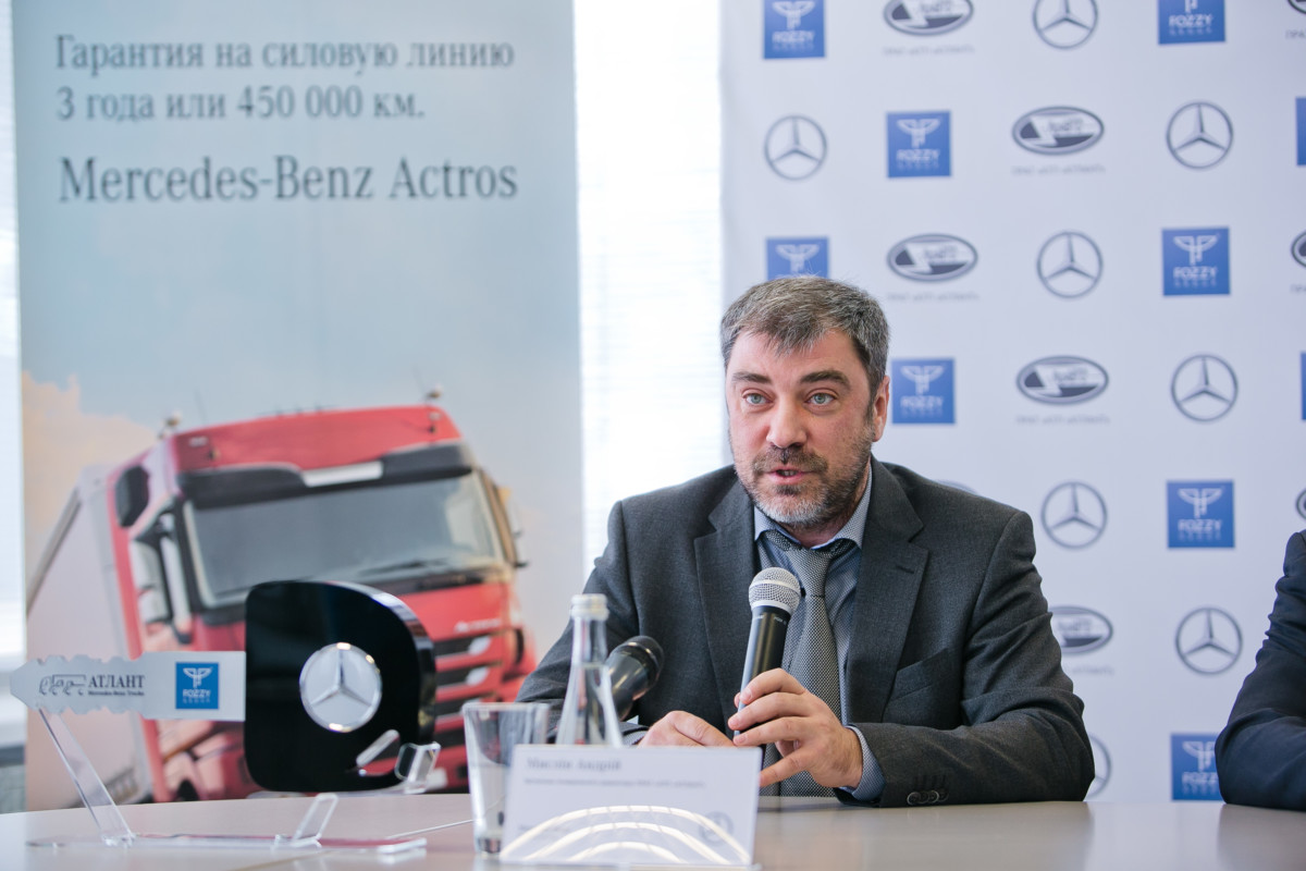 Андрей Мыслин, заместитель генерального директора ЧАО «АТП «АТЛАНТ» по торговле автомобилями.