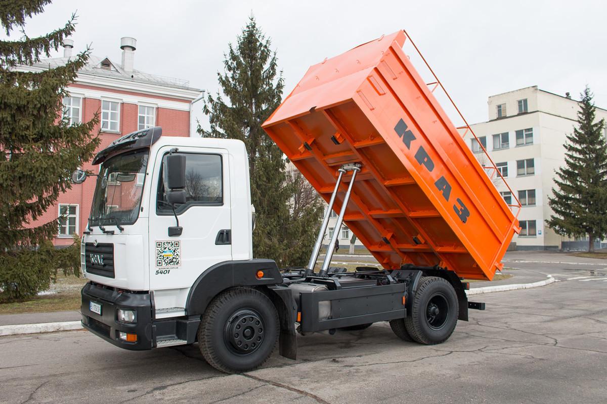 Зерновоз КрАЗ-5401С2
