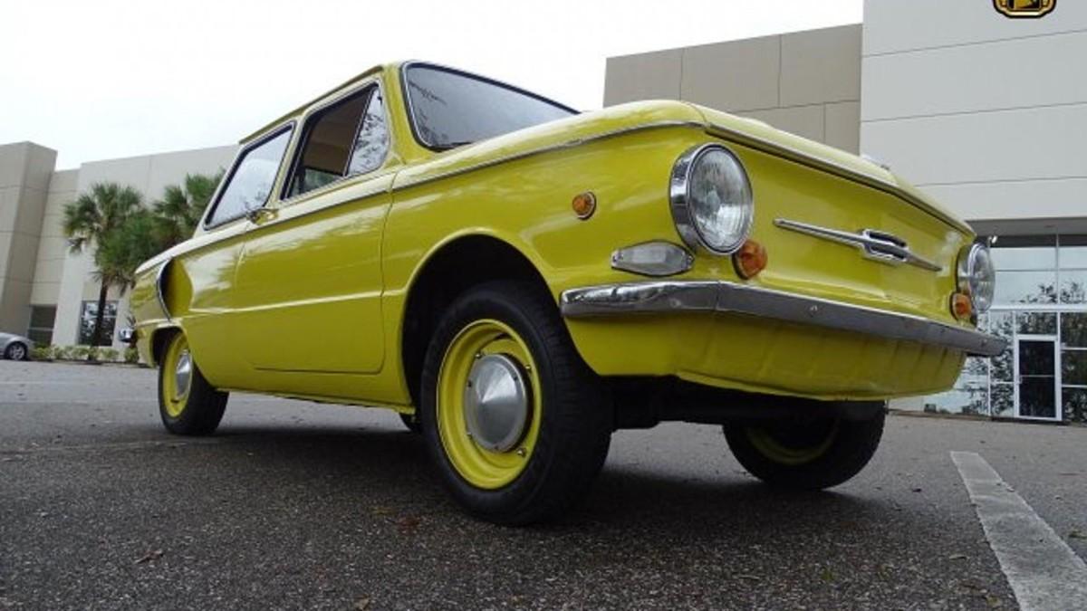 Заморский раритет: старый Запорожец продают по цене новой Skoda Fabia