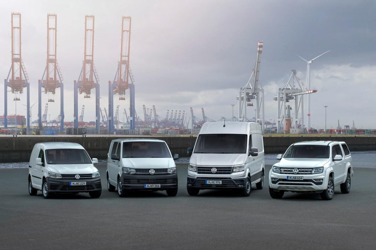Модельный ряд коммерческих автомобилей Volkswagen