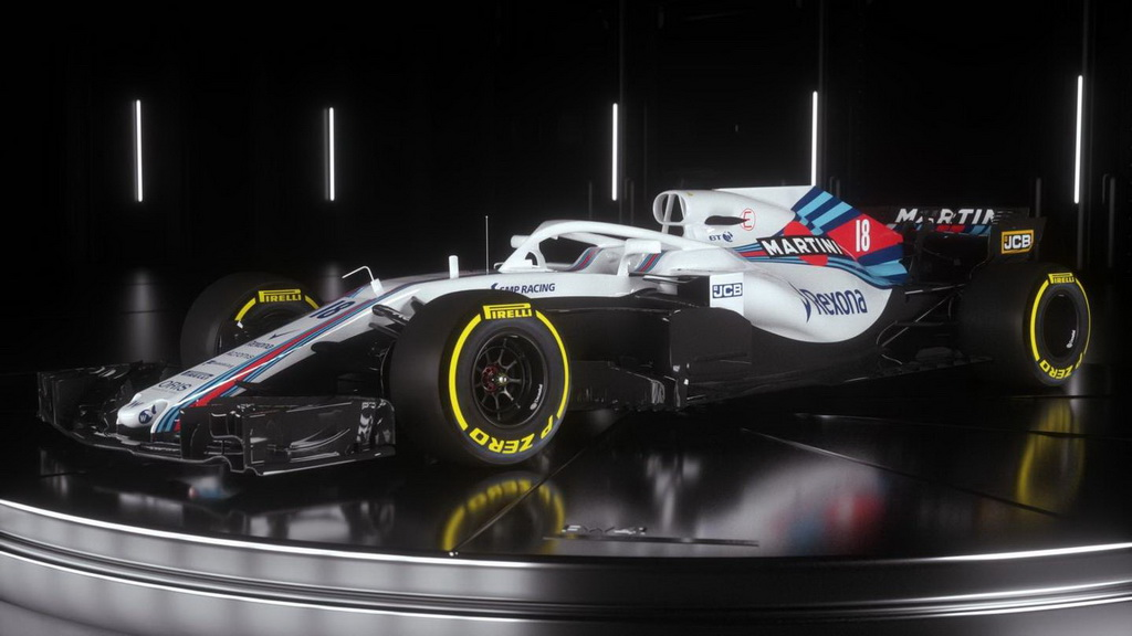 Команда Формулы-1 Williams показала новый болид