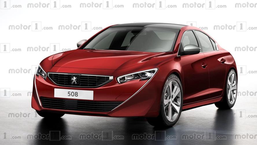Новый Peugeot 508 представят в марте